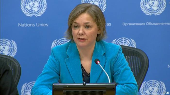 UN Pressekonferenz zum Weltfrauentag 2020 Silke Stab (UN)