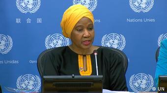 UN Pressekonferenz zum Weltfrauentag 2020 Phumzile Mlambo-Ngcuka