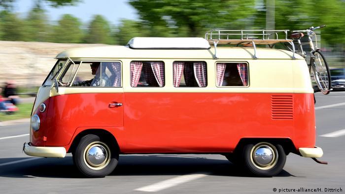 VW Bulli в Ганновере