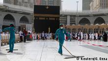 Saudi-Arabien Mekka | Coronavirus | Große Moschee | Hygiene-Maßnahmen