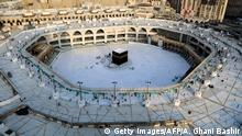 Saudi-Arabien Mekka | Coronavirus | Große Moschee, leer