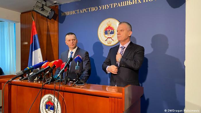 Fahrudin Radončić, ministar sigurnosti BiH, i Dragan Lukač, ministar unutarnjih poslova RS-a