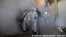 Iran Coronavirus Sicherheitsvorkehrungen