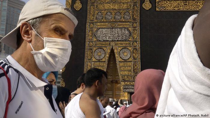 BG Coronavirus Saudi Arabien Pilger (picture-alliance/AP Photo/A. Nabil)