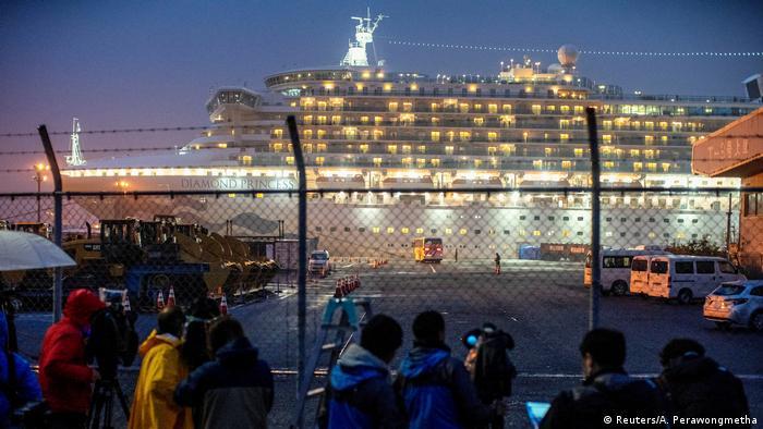 Japan: Kreuzfahrtschiff Diamond Princess