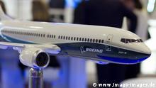 Boeing 737 Max 8, 1/40 scale Model - Internationale Luft- und Raumfahrtausstellung Berlin, offiziell ILA Berlin Air Show 2016 auf dem Flughafen Schoenefeld SXF am 03.06.2016. ILA 2016