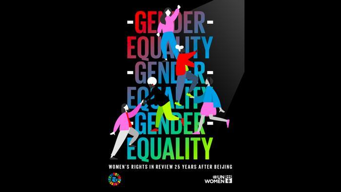 Plakat Gender equality | Geschlechtergleichheit
