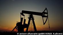 Pferdkopf-Pumpe zur Ölförderung