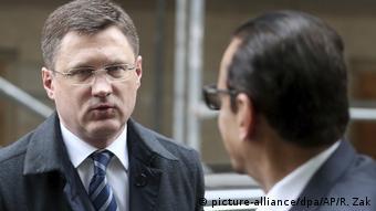 Министр энергетики РФ Александр Новак на встрече ОПЕК в Вене
