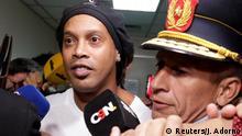 Paraguay Asuncion Ronaldinho vor Gericht wegen gefälschtem Pass