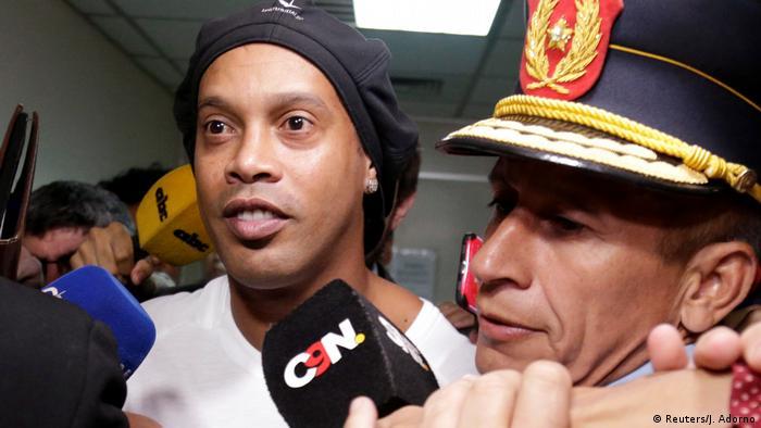 دستگیری رونالدینیو