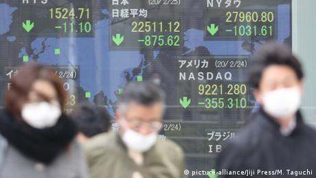 Κίνδυνος παγκόσμιας ύφεσης λόγω κορωνοϊού