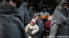 Griechenland Insel Lesbos neue Migranten