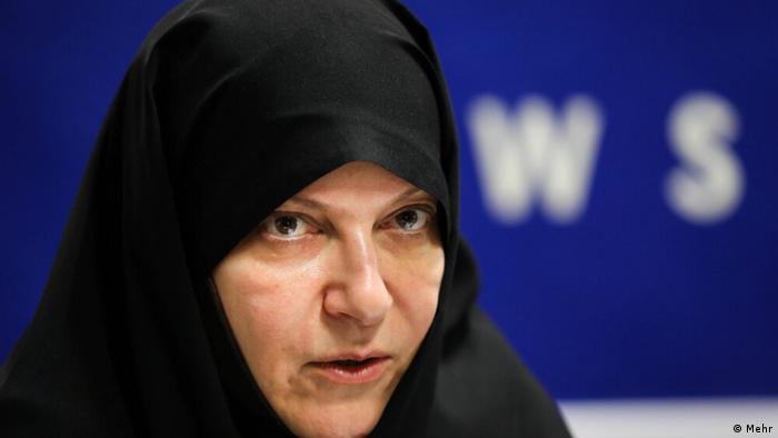Anggota Parlemen Iran, Fatemeh Rahbar (Mehr)