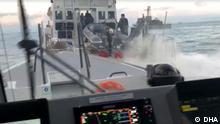 06 März 2020+++Spannung zwischen der türkischen und griechieschen Küstenwachen. Ein Boot der türkischen Küstenwache hat ein Boot der grieschen Küstenwache für eine weile verfolgt.