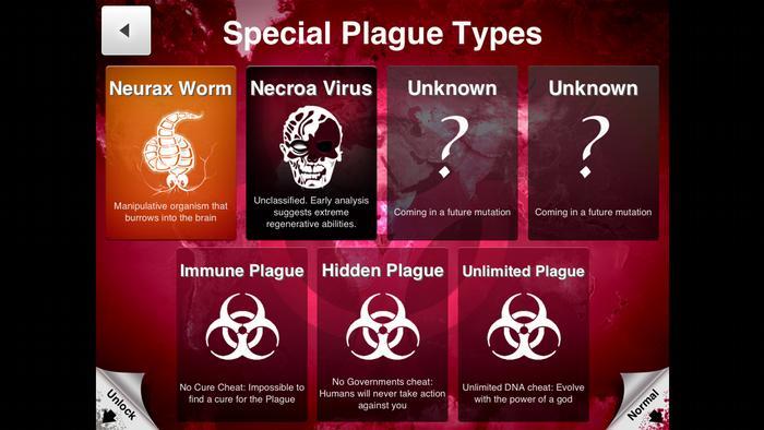 تُعد لعبة Plague Inc من أنجح ألعاب الفيديو حيث فازت بجائزة لعبة العام أكثر من مرة و حازت على إعجاب النقاد و اللاعبين.