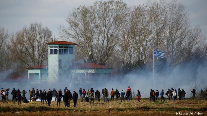 Столкновения на греко-турецкой границе (Фото из архива)