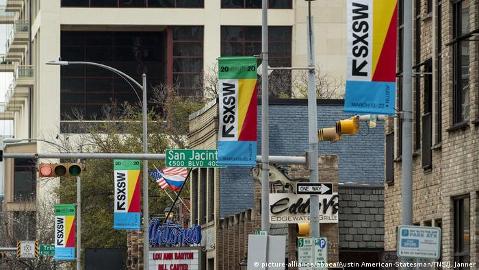 South by southwest 2020 (picture-alliance/abaca/Austin American-Statesman/TNS/J. Janner)