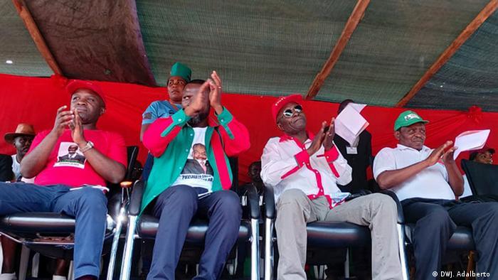 Angola UNITA in Huambo Abgeordnete