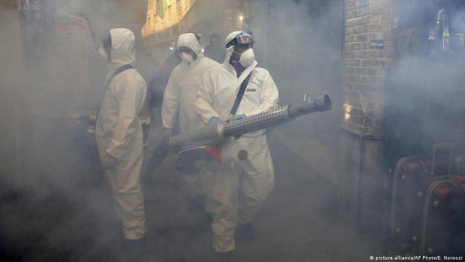 Iran Coronavirus Desinfektion