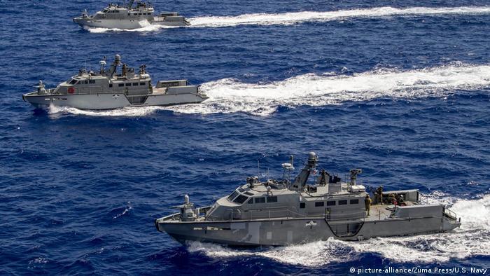 Военные патрульные катера типа Mark VI. Катера такого типа станут частью пакета военной помощи Украине со стороны США