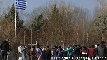 Türkei Migranten an der griechisch-türkischen Grenze