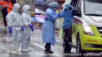 Südkorea Coronavirus Patienten