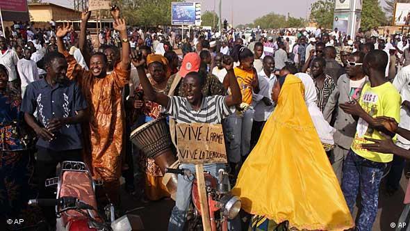 Niger / Niamey / Putsch