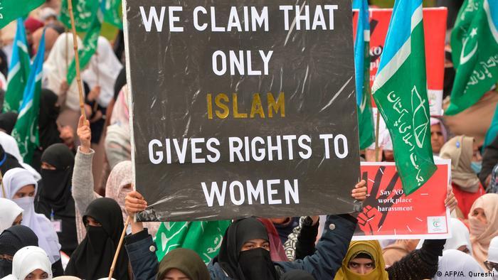 Pakistan Kundgebungen zum Internationalen Frauentag | Jamaat-e-Islami (AFP/A. Qureshi)