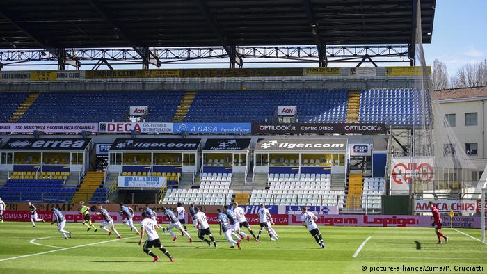 Матч Чемпіонату Італії між Пармою та СПАЛ пройшов за порожніх трибун через поширення коронавірусу в Італії