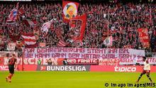 Bundesliga Fanprotest FC Bayern München - FC Augsburg