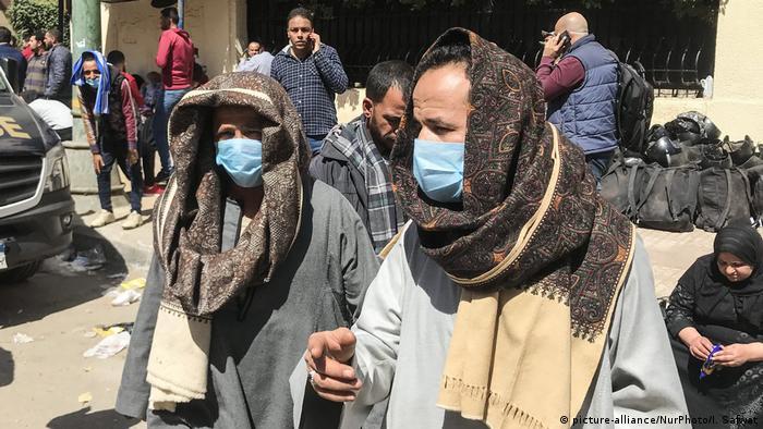Kairo Masken Straße Coronavirus