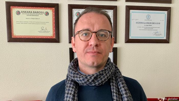 Dogan Erkan, der Jurist