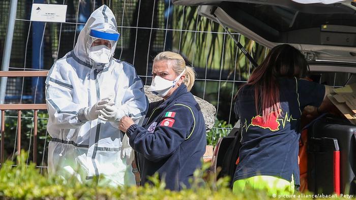 Українку ушпиталили в Італії з підозрою на серцево-судинні хвороби, але тести виявили коронавірус