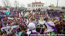 Istanbul Weltfrauentag Demonstrationszug