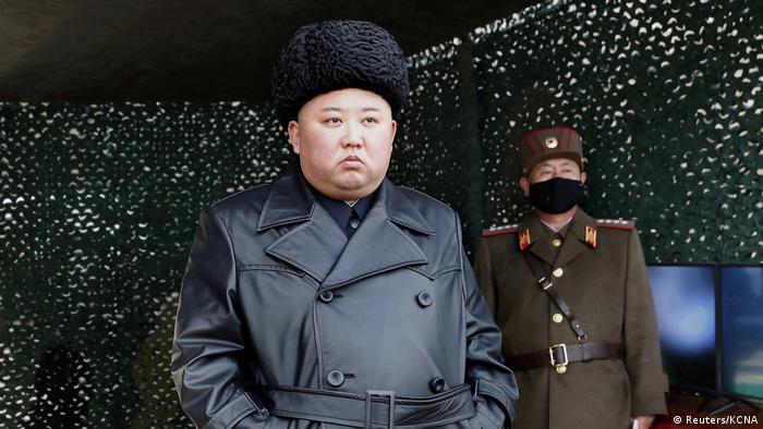 Nordkorea: Raketenübungen unter Leitung von Führer Kim Jong Un (Reuters/KCNA)