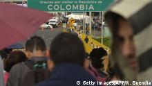 Symbolbild- Grenze - Venezuela - Kolumbien - Krise