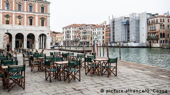 Все кафе и рестораны в Италии закрыты из-за коронавируса