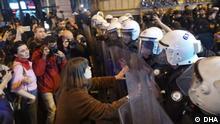 Türkei Polizeieinsatz Frauentag Protestzug in Istanbul