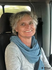 Marianne Gysae, mother of the crash victim Max Thabiso Edkins