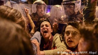 Türkei Frauentagdemo in Istanbul