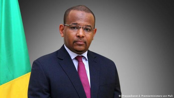 Premierminister von Mali Boubou Cisse ( Pressedienst d. Premierministers von Mali)