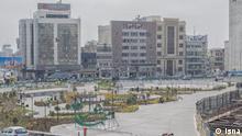 Leere Straßen in Teheran wegen Corona-Epidemie