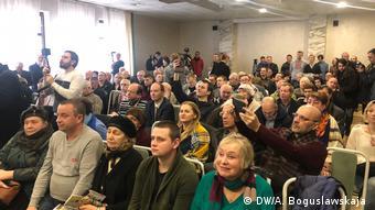 Аншлаг на собрании в Витебске