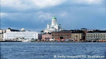 Вид на Кафедральный собор в Хельсинки