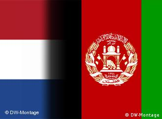The Dutch and Afghan flags