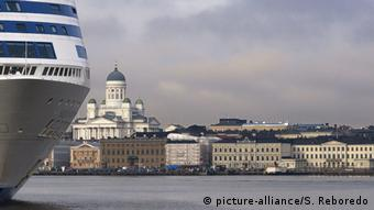 Στο λιμάνι του Ελσίνκι καταφθάνουν επισκέπτες από όλη τη Σκανδιναβία