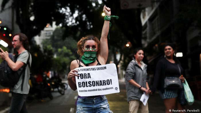 Día Internacional de la Mujer en Brasil