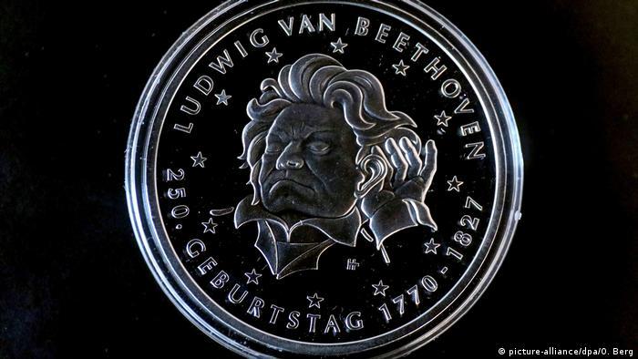 Deutschland Bonn Beethoven Münze