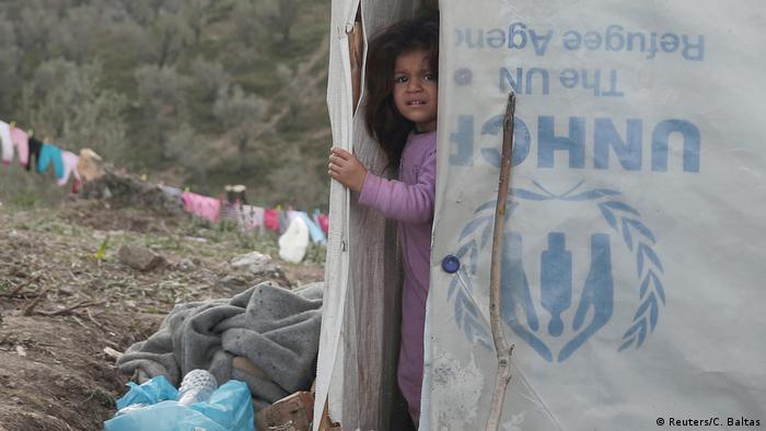 Griechenland Flüchtlinge im Moria Camp, Lesbos